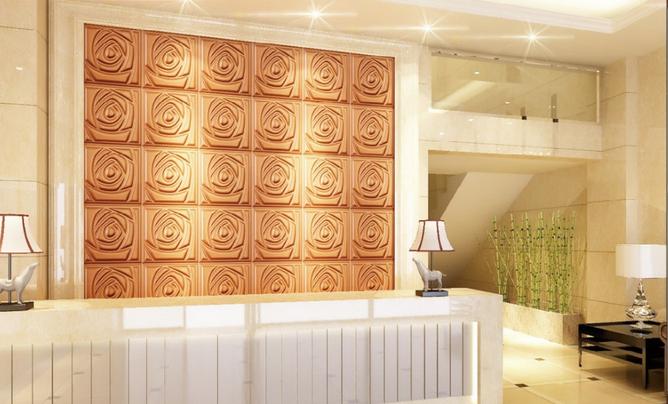 La parete decorativa del contesto d del sofà piastrella il cm