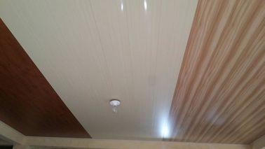 Porcellana pannelli per soffitti piani del PVC di 6mm x di 20cm nessuna progettazione di legno di aspirazione distributore